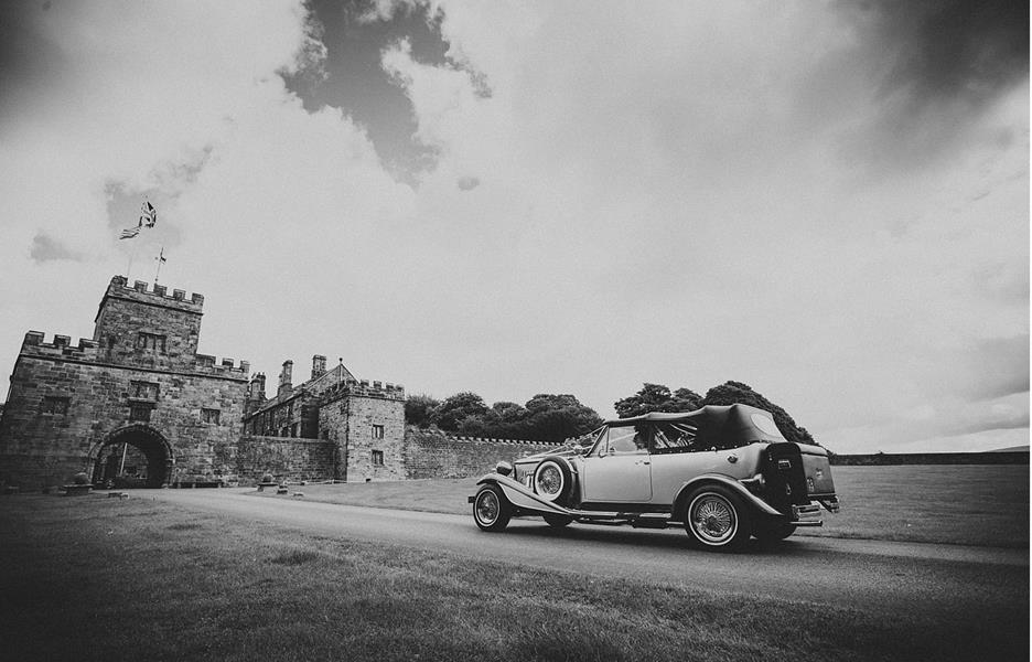 Churchtown Wedding Cars Black and White